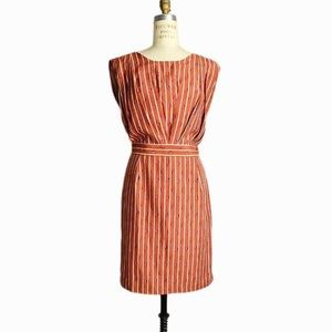 Rachel Comey Marion Burnt Sienna Crab Dress Size 2